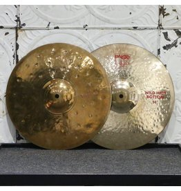 Paiste Used Paiste 2002 Wild Hi-Hat Cymbals 14in (934/1302g)