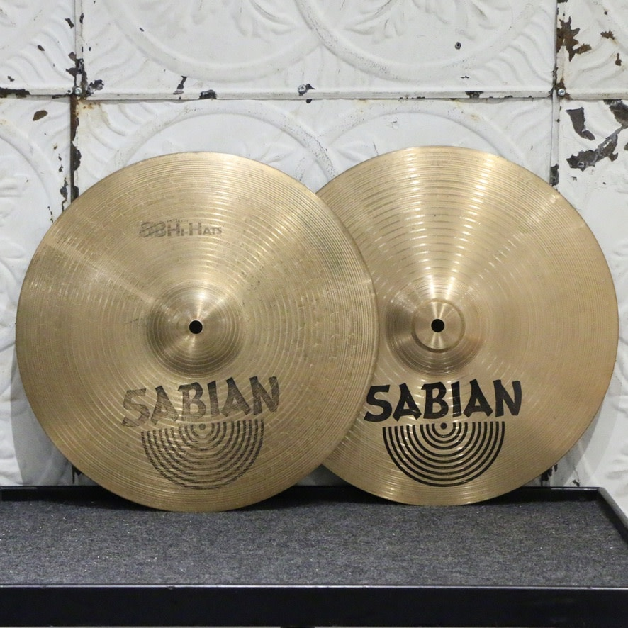 Sabian Used Sabian B8 Hi-Hat Cymbals 14in