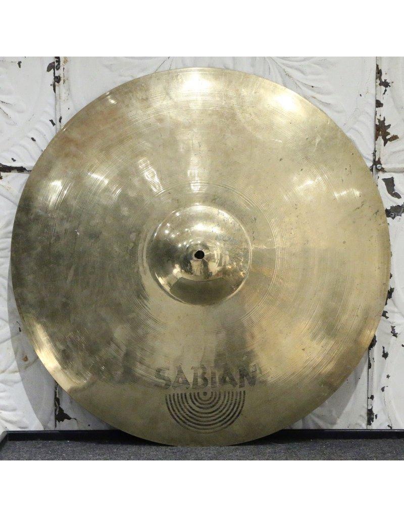 Sabian Used Sabian AAX Metal Ride Cymbal 22in (3702g)