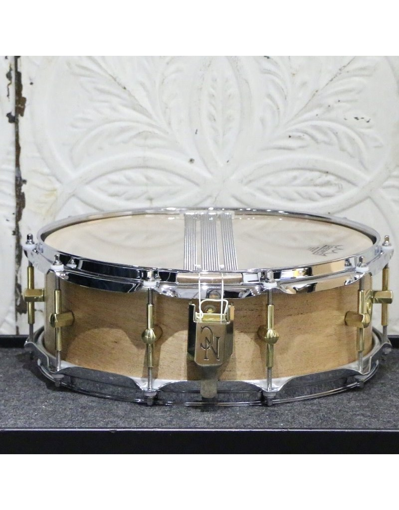 Noble & Cooley Used Noble & Cooley SS Black Birch Snare Drum 14X5in - Burnt Ale