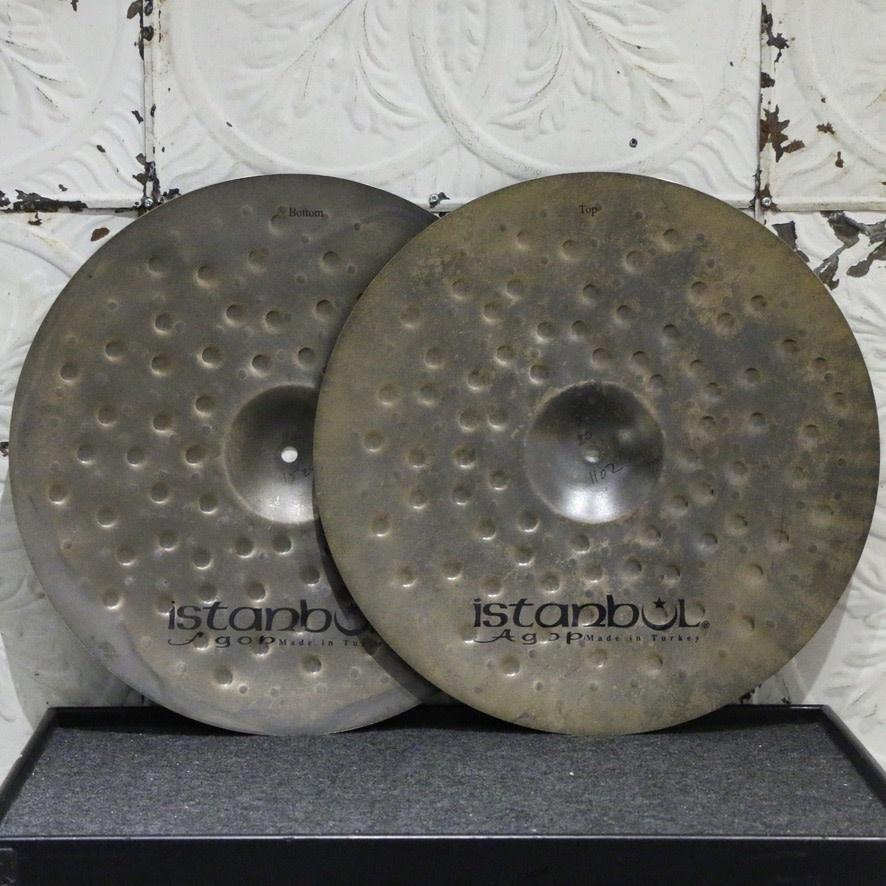 Istanbul Agop Istanbul Agop XIST Dry Dark Hi-hat Cymbals 17in (1102/1524g)