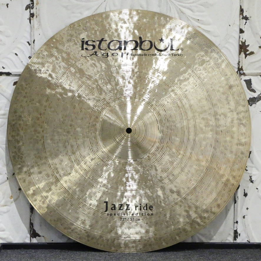 Istanbul Agop Istanbul Agop Jazz Ride Cymbal 22in (2180g)