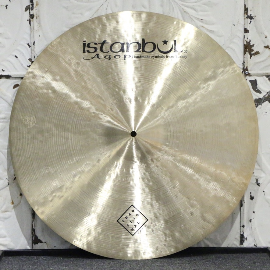 Istanbul Agop Istanbul Agop Traditional Dark Ride Cymbal 22in (2408g)