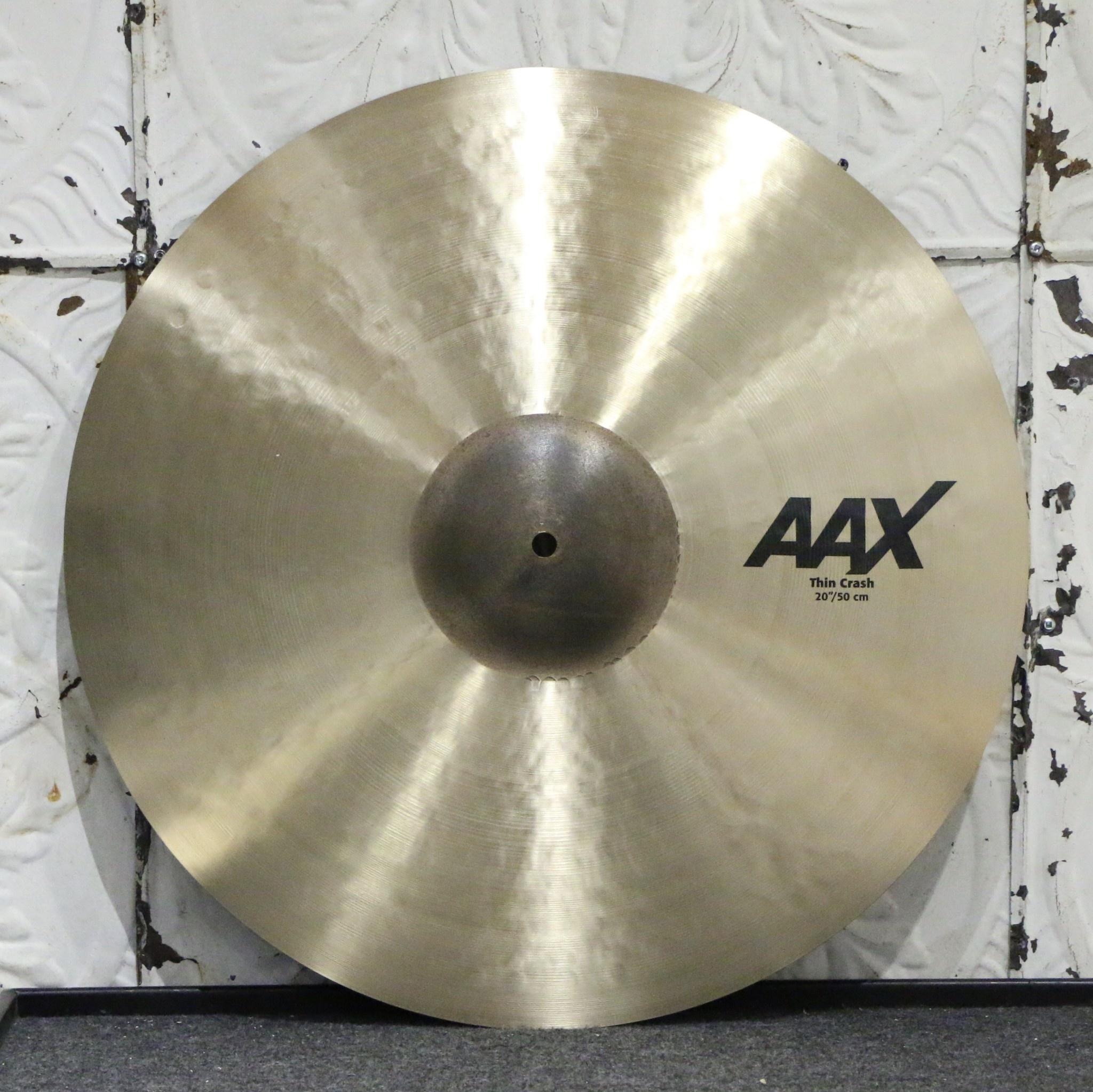 Sabian Sabian AAX Thin Crash Cymbal 20in (1606g)