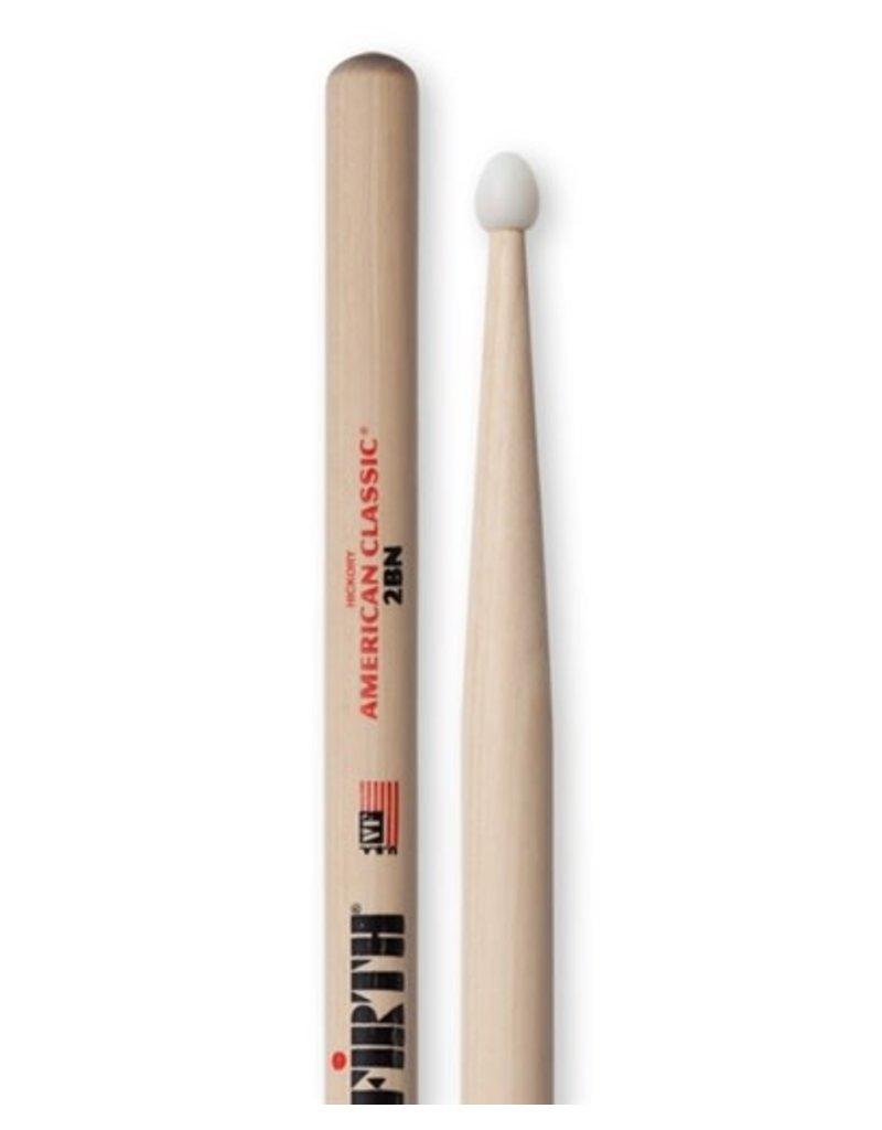 Vic Firth  Vic Firth 2B Drum Sticks - nylon