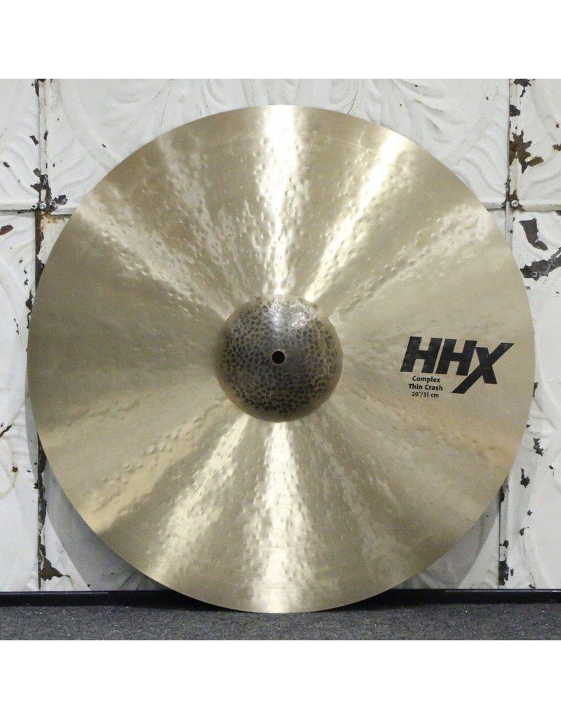 Sabian Sabian HHX Complex Thin Crash Cymbal 20in (1670g)