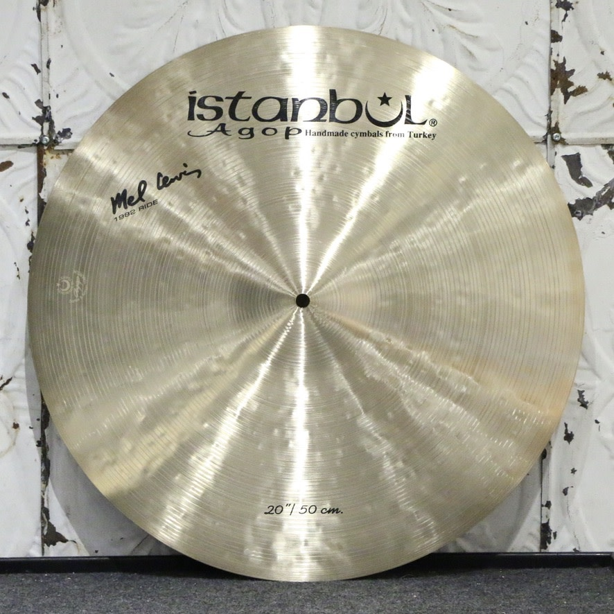 Istanbul Agop Istanbul Agop Mel Lewis 1982 Ride Cymbal 20in (1882g)