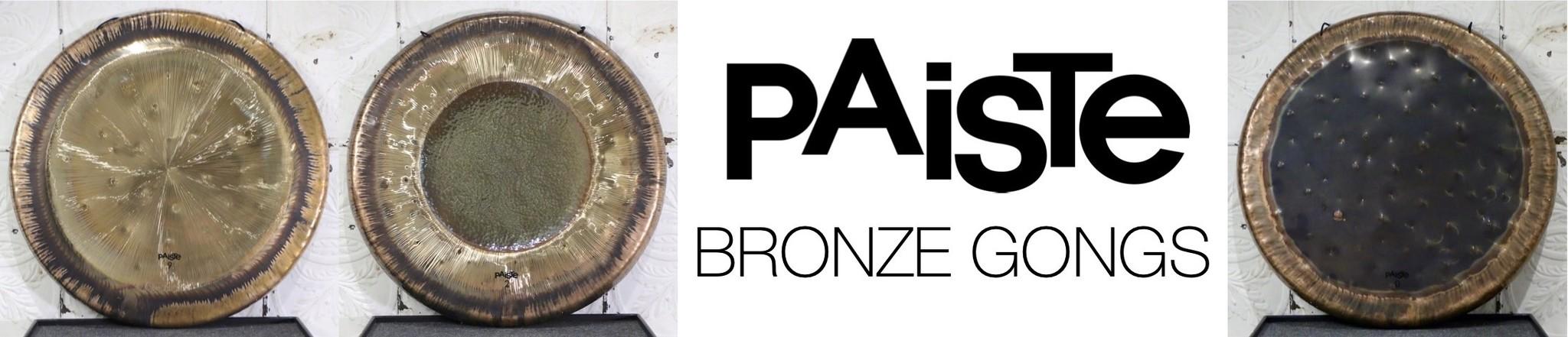 Paiste Bronze Gongs