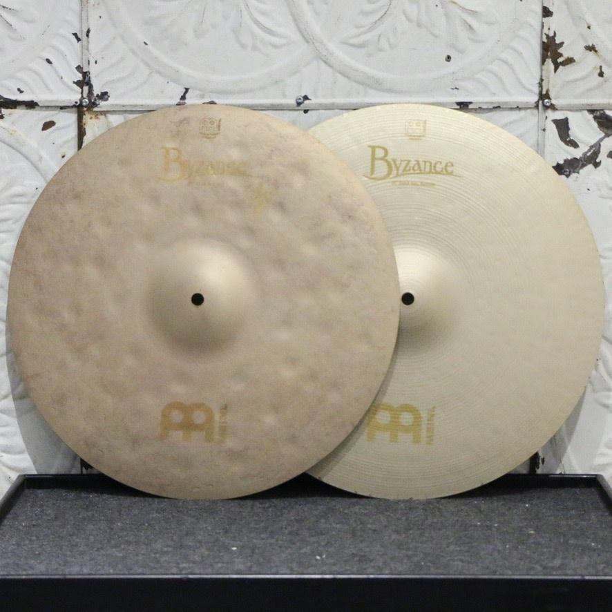 Meinl Meinl Byzance Vintage Sand Hi-Hat Cymbals 16in (1052/1682g)