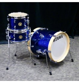 Tama Tama Club-JAM Suitcase Drum Kit 16-10-12in - Indigo Sparkle