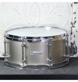 DUNNETT Used Dunnett Titanium snare drum 6.5X14in
