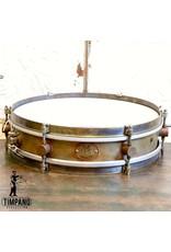 A&F Drum Co A&F Rude Boy Brass Snare Drum 13X3in