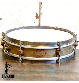 A&F Drum Co A&F Rude Boy Brass Snare Drum 13X3in