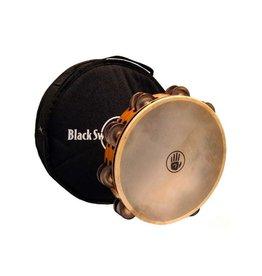 Black Swamp Percussion Black Swamp Tambourine Chromium 25 natural head