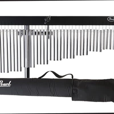 Pearl Pearl Wind Chimes with bag and clamp attachment