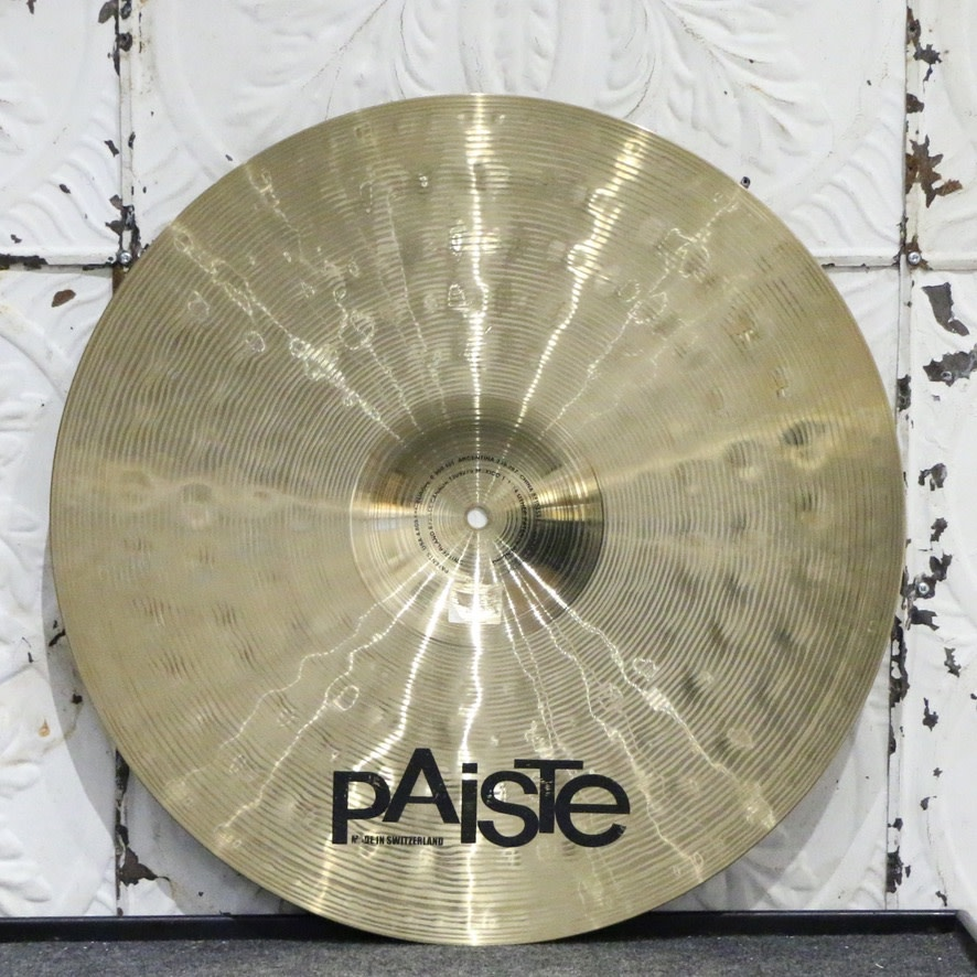 Paiste Used Paiste Signature Power Ride 20in (2934g)
