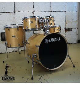 Yamaha Yamaha Stage Custom Birch Drumkit 22-10-12-16in + 14in Snare Drum and tom holder