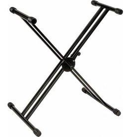 Quiklok Quiklok X-Style Double Brace Single-Tier Heavy Duty Keyboard Stand