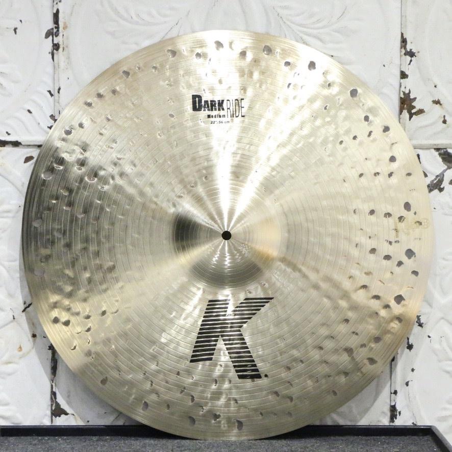 Zildjian Zildjian K Medium Dark Ride Cymbal 22in (2970g)