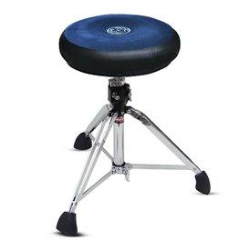 Roc-N-Soc Roc-N-Soc Round Manual Drum Throne - Blue