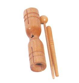 Mano Block à deux sons mano avec baguette