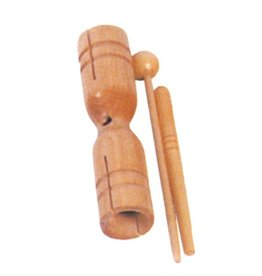 Mano Mano Two Tone Wood block with mallet