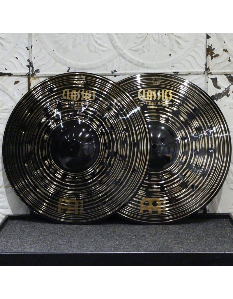 Meinl Meinl Classics Custom Dark Hi-Hats 16in (1222/1424g)