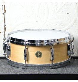 Gretsch Gretsch USA Custom Maple/Gum Snare Drum 14X5.5in - Satin Classic Maple