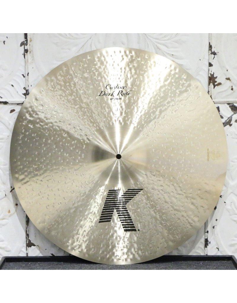Zildjian Zildjian K Custom Dark Ride Cymbal 22in (2810g)