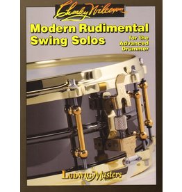 Alfred Music Modern Rudimental Swing Solos for the Advanced Drummer - Charley Wilcoxon