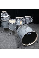 Pacific PDP 7-piece Drumkit Concept Maple PDP (18x22 7x8 8x10 9x12 12x14 14x16 snare 5.5x14) - Satin Pewter