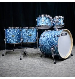 Tama Tama Starclassic Walnut/Birch Drum Kit 22-10-12-14-16in - Turquoise Pearl