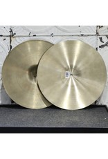 Zildjian Used Zildjian A New Beat (top CAD/bottom USA) Hi-Hat Cymbals 15in (996/1566g)