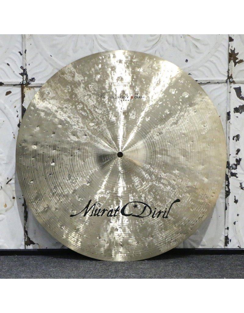 Used Murat Diril Renaissance Dark Crash Cymbal 19in (1394g)