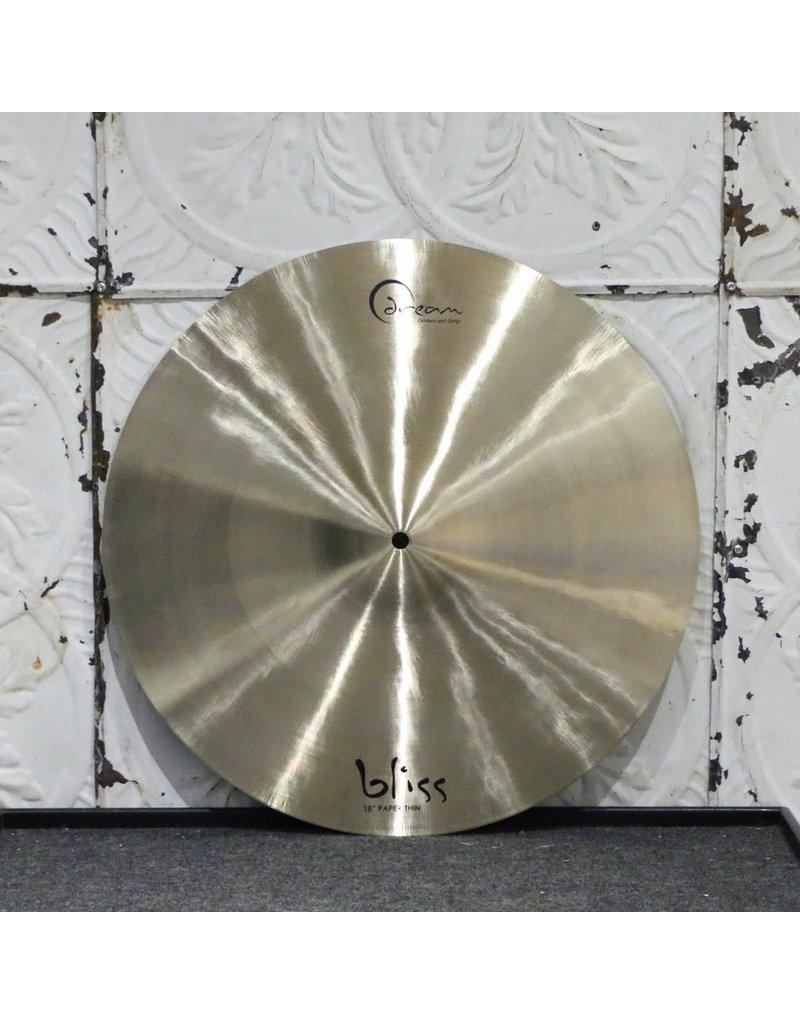 Dream Dream Bliss Paper Thin Crash Cymbal 18in (1138g)