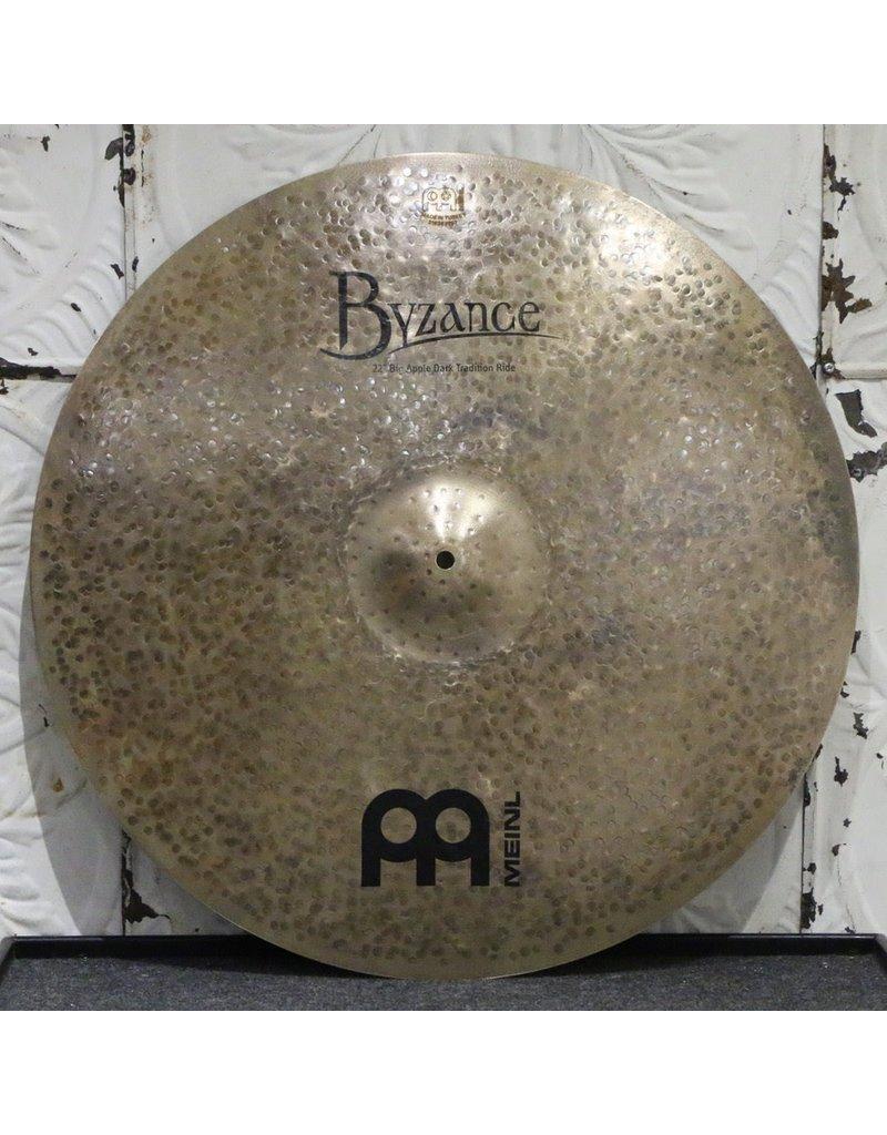 Meinl Meinl Byzance Big Apple Dark Tradition Ride Cymbal 22in (2332g)