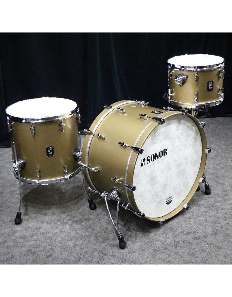 Sonor Sonor SQ1 Drum Kit 24-13-16in - Satin Gold Metallic