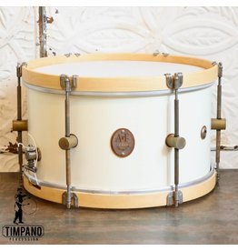 A&F Drum Co Caisse claire A&F Field Maple Antique White 14X8po