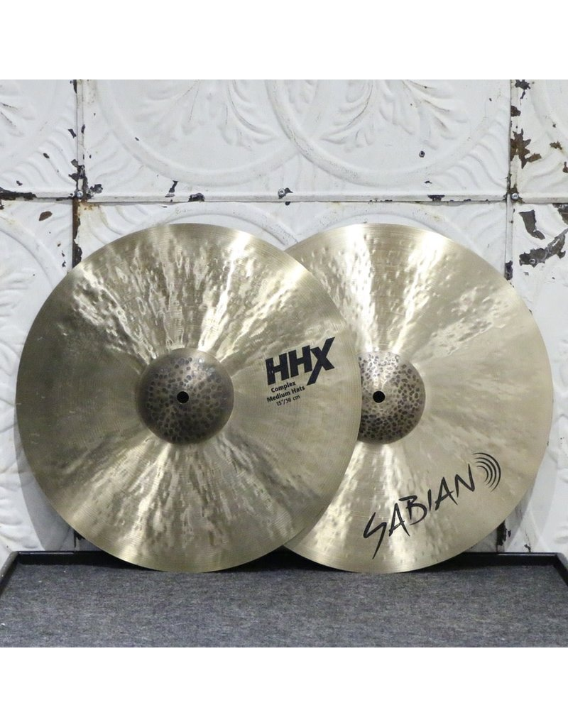 Sabian Used Sabian HHX Complex Hi-Hats 15in (1126/1426g)