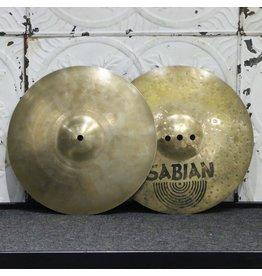 Sabian Used Sabian AAX Fusion Hi-Hat Cymbals 13in (894/1456g)