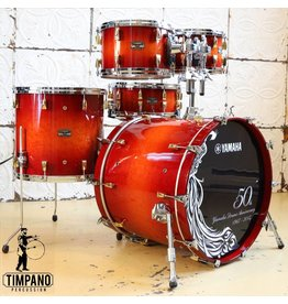 Yamaha Yamaha Absolute Maple Hybrid Limited Edition 50th Anniversairy Drum Kit Amber Sunburst