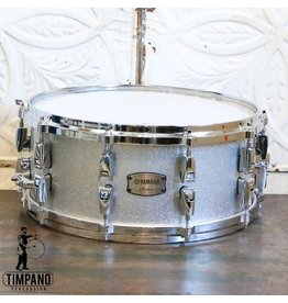 Yamaha Yamaha Absolute Maple Hybrid Snare Drum 14X6in - Silver Sparkle