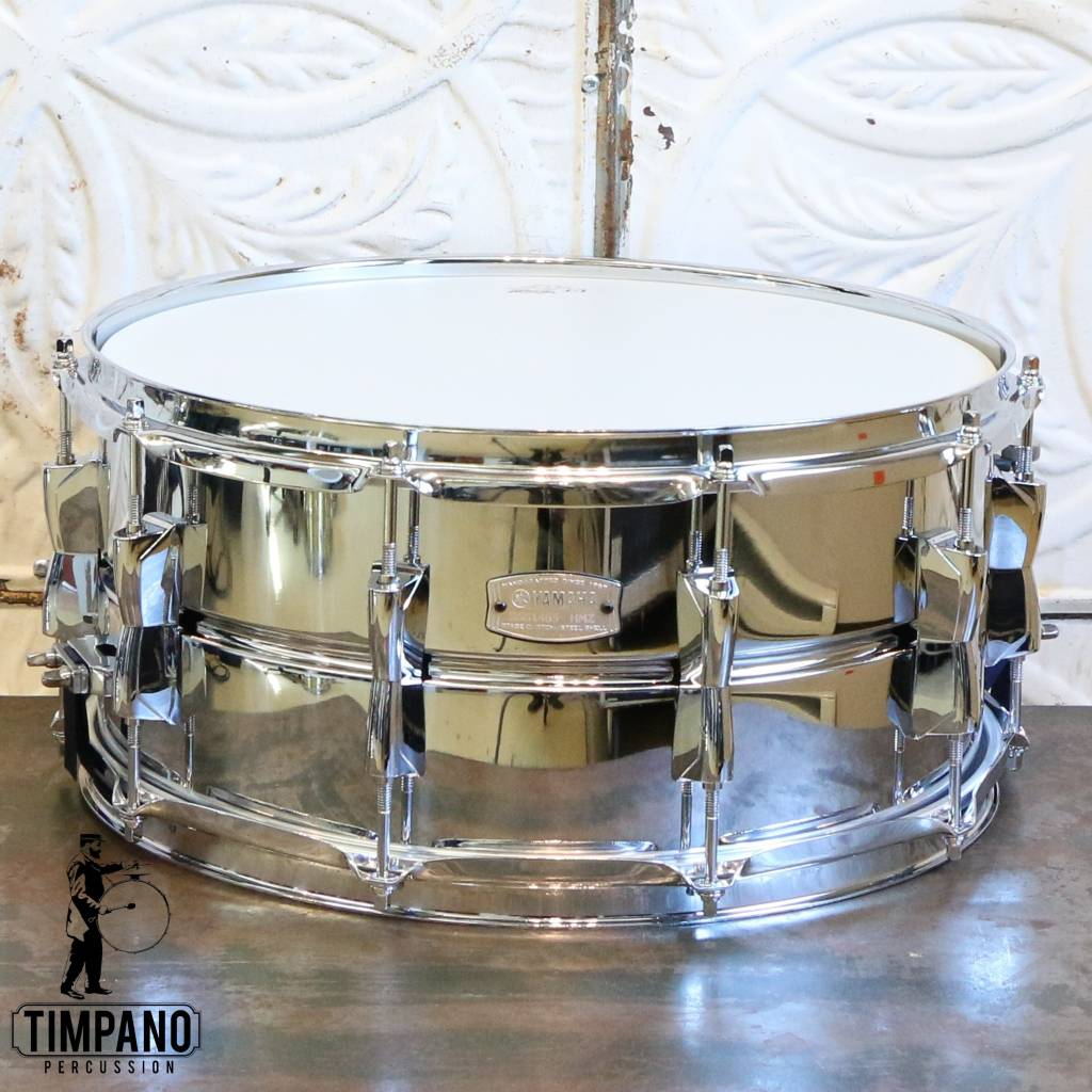 2bc05b10c5b9 Yamaha Stage Custom Stainless Steel Snare Drum 14X6.5in - Timpano ...