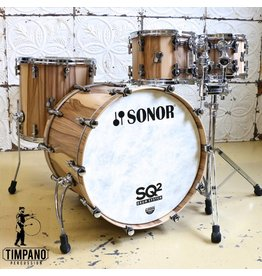 Sonor Batterie Sonor SQ2 Select American Walnut 22-10-12-16po