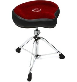 Roc-N-Soc Roc-N-Soc Original Manual Drum Throne - Red