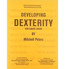 Try Publications Developing Dexterity For Snare Drum, Mitchell Peters