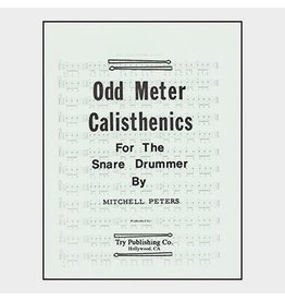 Try Publications Odd Meter Calisthenics For The Snare Drummer, Mitchell Peters
