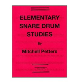 Try Publications Elementary Snare Drum Studies, Mitchell Peters