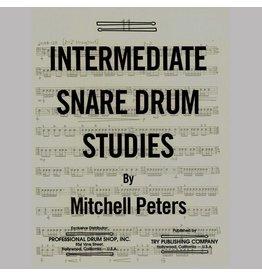 Try Publications Intermediate Snare Drum Studies
