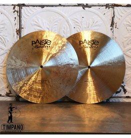 Paiste Cymbales hi-hat Paiste Masters Dark 15po